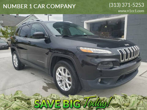 2016 Jeep Cherokee for sale at NUMBER 1 CAR COMPANY in Detroit MI