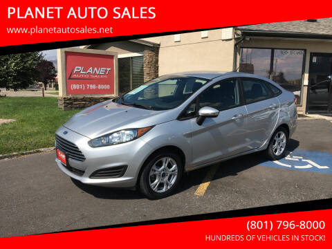 2016 Ford Fiesta for sale at PLANET AUTO SALES in Lindon UT