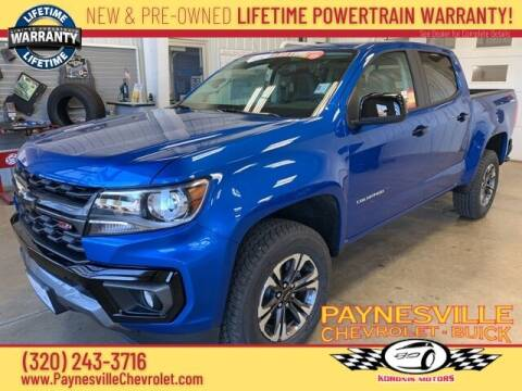 2021 Chevrolet Colorado for sale at Paynesville Chevrolet - Buick in Paynesville MN