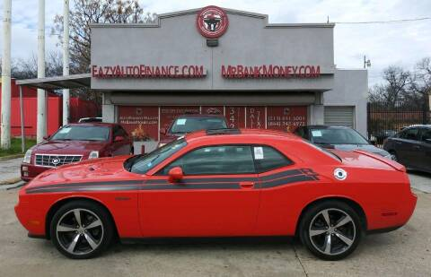 2013 Dodge Challenger for sale at Eazy Auto Finance in Dallas TX