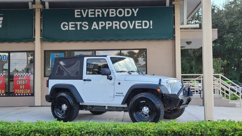 2012 Jeep Wrangler for sale at Dunn-Rite Auto Group in Longwood FL