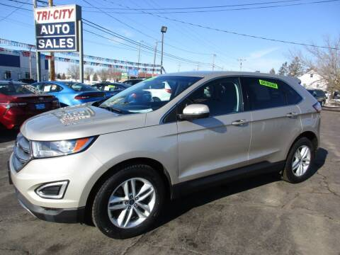 2017 Ford Edge for sale at TRI CITY AUTO SALES LLC in Menasha WI