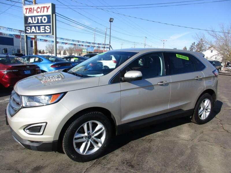 2017 Ford Edge for sale at TRI CITY AUTO SALES LLC in Menasha WI