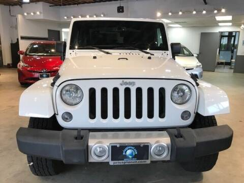 2014 Jeep Wrangler for sale at PRIUS PLANET in Laguna Hills CA