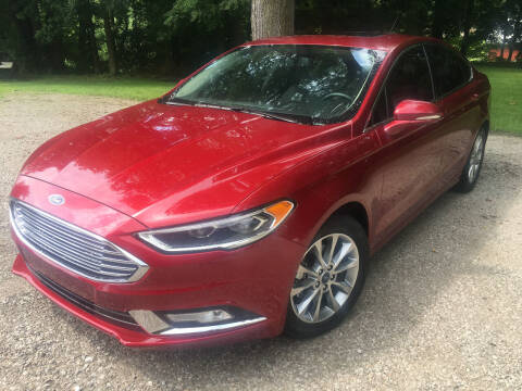 2017 Ford Fusion for sale at Kenny Vice Ford Sales Inc - USED Vehicle Inventory in Ladoga IN