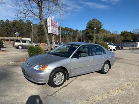 2003 Honda Civic for sale at Kelly & Kelly Auto Sales in Fayetteville NC