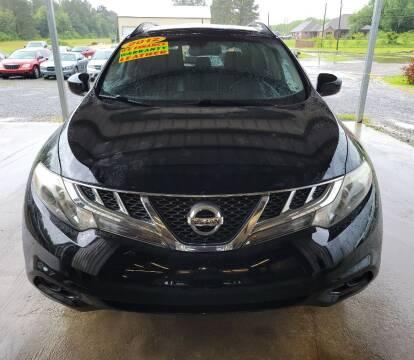 2012 Nissan Murano for sale at Auto Guarantee, LLC in Eunice LA
