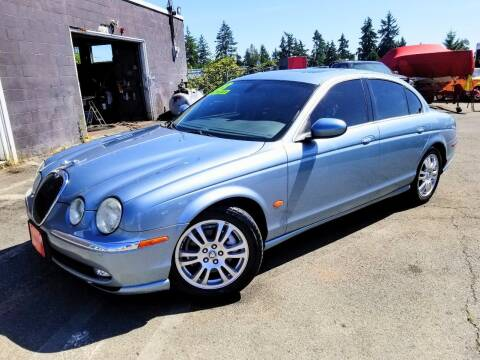 2003 Jaguar S-Type for sale at SS MOTORS LLC in Edmonds WA