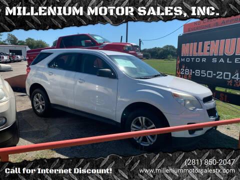 2013 Chevrolet Equinox for sale at MILLENIUM MOTOR SALES, INC. in Rosenberg TX