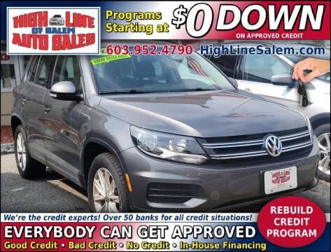 2018 Volkswagen Tiguan Limited for sale at High Line Auto Sales of Salem in Salem NH
