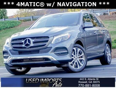 2017 Mercedes-Benz GLE for sale at Used Imports Auto in Roswell GA
