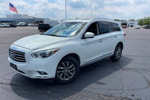 2013 Infiniti JX35 for sale at TRANS P in East Windsor CT