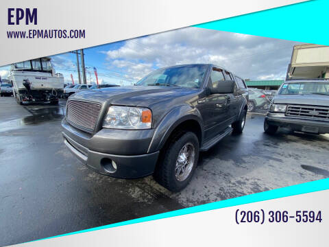 2006 Ford F-150 for sale at EPM in Auburn WA