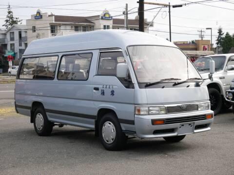 1992 Nissan Caravan Coach Diesel  10 seats for sale at JDM Car & Motorcycle LLC in Seattle WA