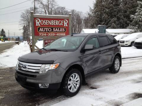 2010 Ford Edge for sale at Rosenberger Auto Sales LLC in Markleysburg PA