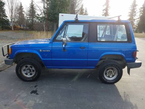 1989 Dodge Raider for sale at Great Alaska Car Co. in Soldotna AK