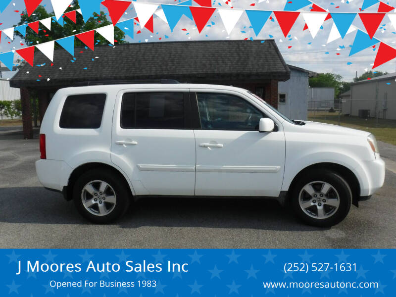 2009 Honda Pilot for sale at J Moores Auto Sales Inc in Kinston NC