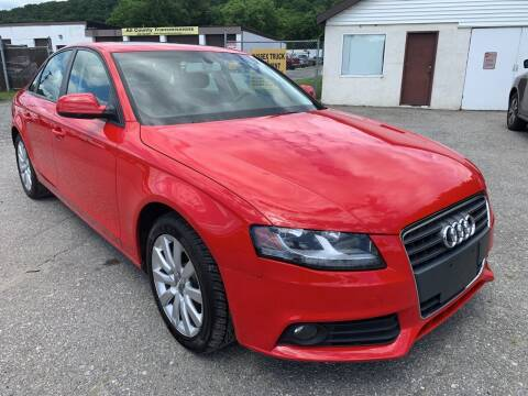2012 Audi A4 for sale at Ron Motor Inc. in Wantage NJ