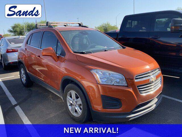 2015 Chevrolet Trax for sale at Sands Chevrolet in Surprise AZ