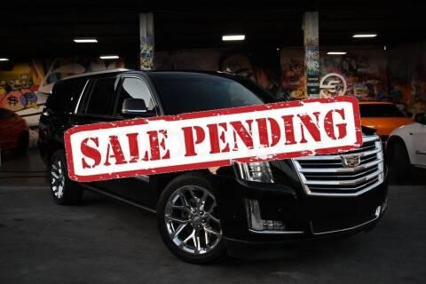 2017 Cadillac Escalade ESV for sale at STS Automotive - Miami, FL in Miami FL