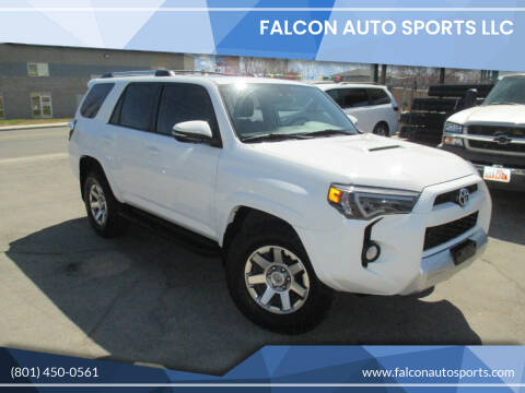 2016 Toyota 4Runner for sale at Falcon Auto Sports LLC in Murray UT