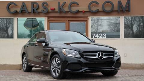 2018 Mercedes-Benz C-Class for sale at Cars-KC LLC in Overland Park KS