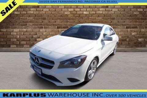 2015 Mercedes-Benz CLA for sale at Karplus Warehouse in Pacoima CA