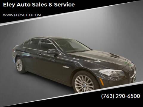 2013 BMW 5 Series for sale at Eley Auto Sales & Service in Loretto MN