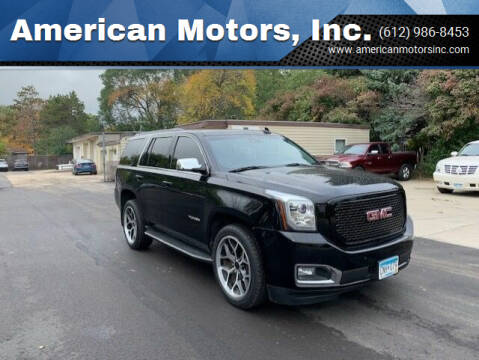 2017 GMC Yukon for sale at American Motors, Inc. in Farmington MN