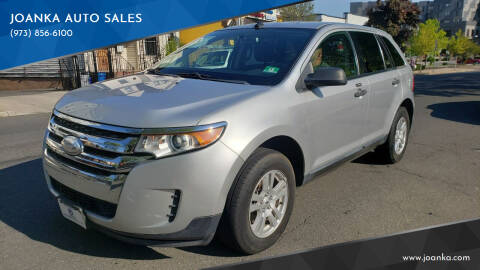 2013 Ford Edge for sale at JOANKA AUTO SALES in Newark NJ