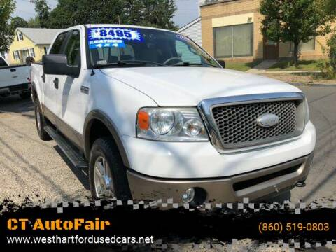 2006 Ford F-150 for sale at CT AutoFair in West Hartford CT