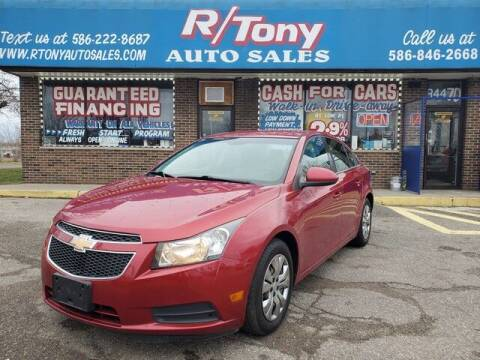 2011 Chevrolet Cruze for sale at R Tony Auto Sales in Clinton Township MI