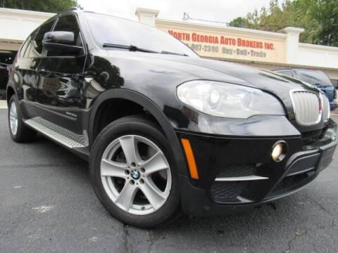 2012 BMW X5 for sale at North Georgia Auto Brokers in Snellville GA