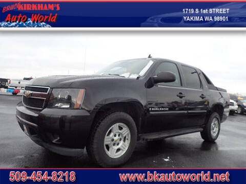 2008 Chevrolet Avalanche for sale at Bruce Kirkham Auto World in Yakima WA
