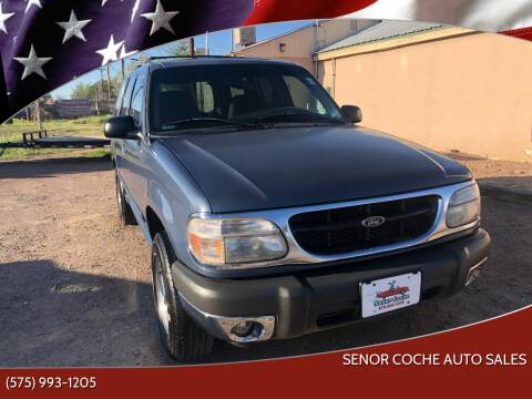 2001 Ford Explorer for sale at Senor Coche Auto Sales in Las Cruces NM