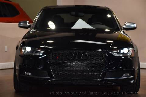 2014 Audi S4 for sale at Tampa Bay AutoNetwork in Tampa FL