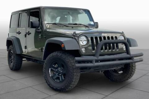 2015 Jeep Wrangler Unlimited for sale at CU Carfinders in Norcross GA