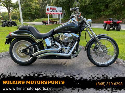2006 Harley-Davidson SoftailDeuce for sale at WILKINS MOTORSPORTS in Brewster NY