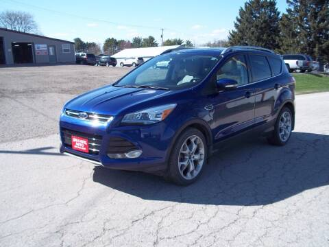2014 Ford Escape for sale at SHULLSBURG AUTO in Shullsburg WI