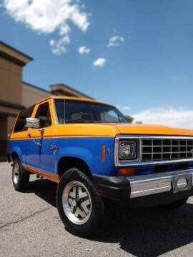 1984 Ford Bronco for sale at Classic Car Deals in Cadillac MI