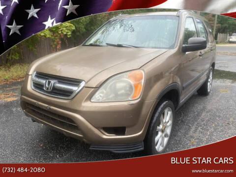 2003 Honda CR-V for sale at Blue Star Cars in Jamesburg NJ