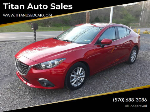 2016 Mazda MAZDA3 for sale at Titan Auto Sales in Berwick PA