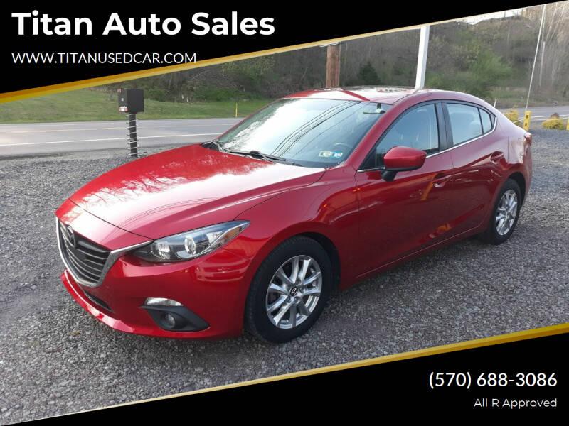 2016 Mazda MAZDA3 for sale at Titan Auto Sales in Berwick PA
