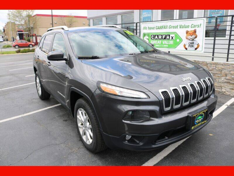 2015 Jeep Cherokee for sale at AUTO POINT USED CARS in Rosedale MD