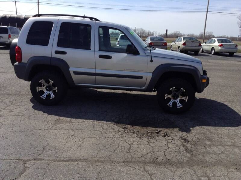 2003 Jeep Liberty for sale at Kevin's Motor Sales in Montpelier OH