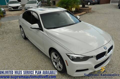 2014 BMW 3 Series for sale at Supreme Automotive in Land O Lakes FL