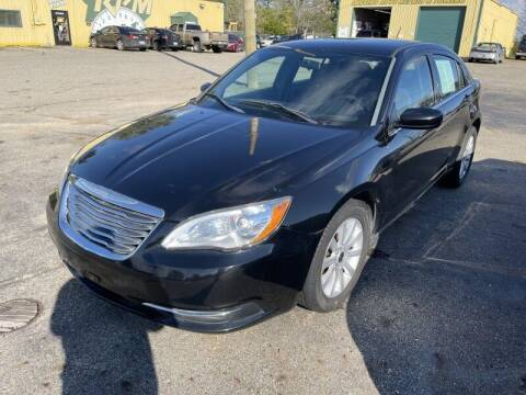 2012 Chrysler 200 for sale at RPM AUTO SALES in Lansing MI