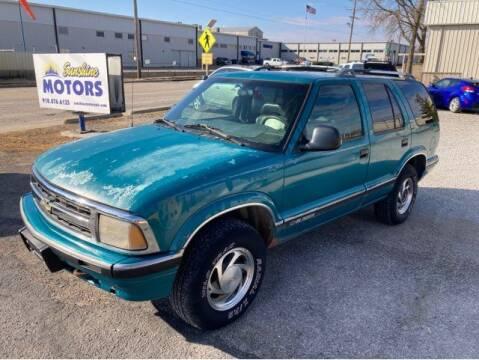 1995 Chevrolet Blazer for sale at Sunshine Motors in Bartlesville OK