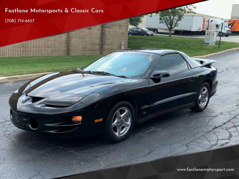 1998 Pontiac Firebird for sale at Fastlane Motorsports & Classic Cars in Addison IL