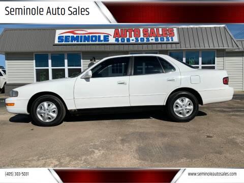 1992 Toyota Camry for sale at Seminole Auto Sales in Seminole OK